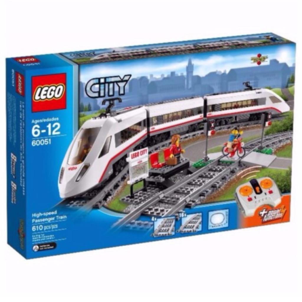 Compare Price Lego 60051 High Speed Passenger Train Lego On Singapore