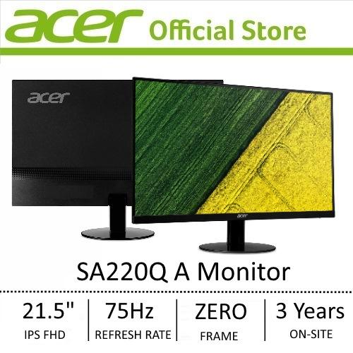 Acer SA220Q A 21.5 FHD IPS Ultra-thin Monitor (FreeSync)