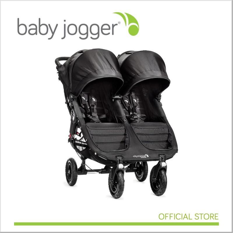 Baby Jogger City MIni GT Double BLACK Singapore