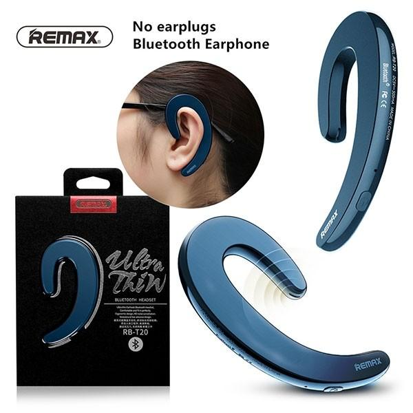 Price Remax Rb T20 Ultrathin Earhook Unilateral Bluetooth Earphone Headphone With Mic Singapore