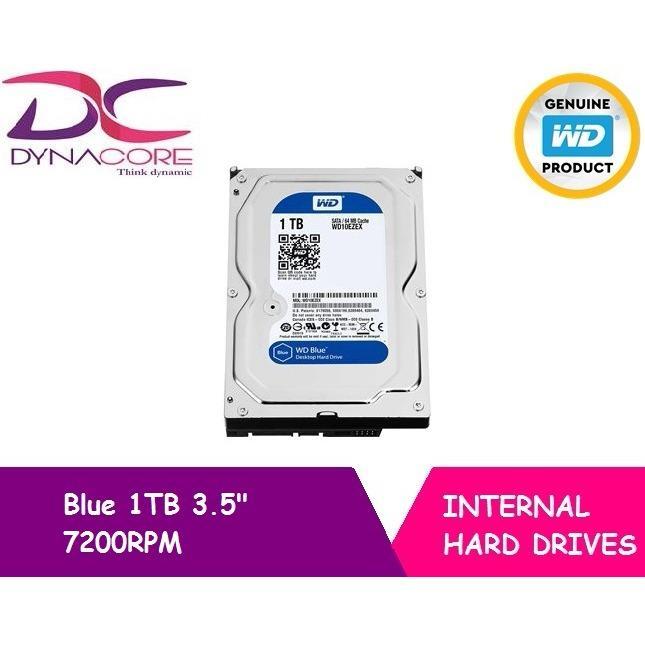 Store Western Digital Wd Blue 1Tb 3 5 Internal Hard Drive Wd On Singapore