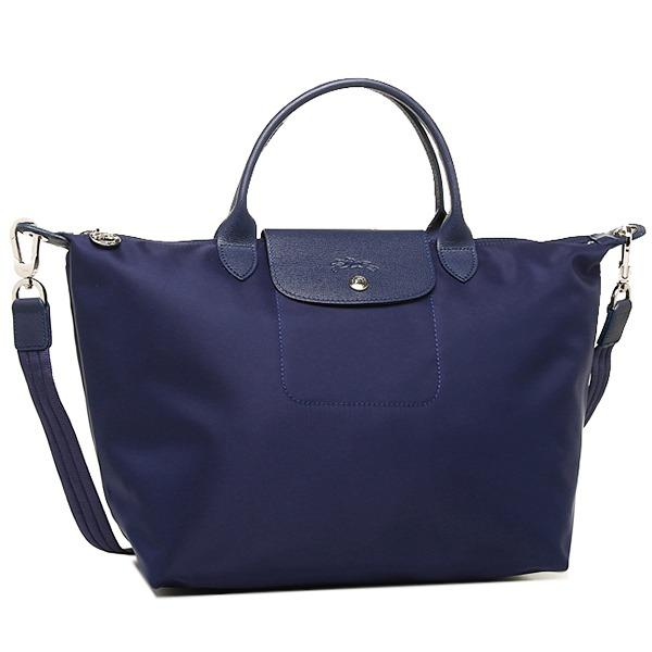 Best Longchamp Neo Medium 1515 Series Navy Blue