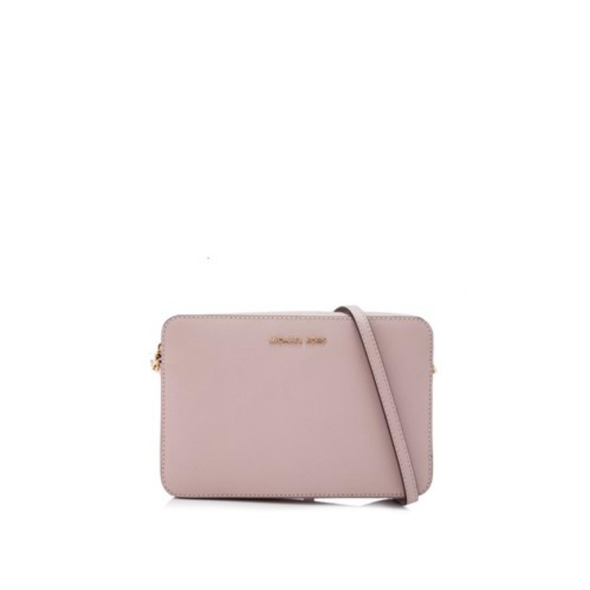 1344eab6ef96b5 Michael Kors Jet Set East West Large Crossbody Bag (Soft Pink) #  32S4GTVC3LSOFTPINK
