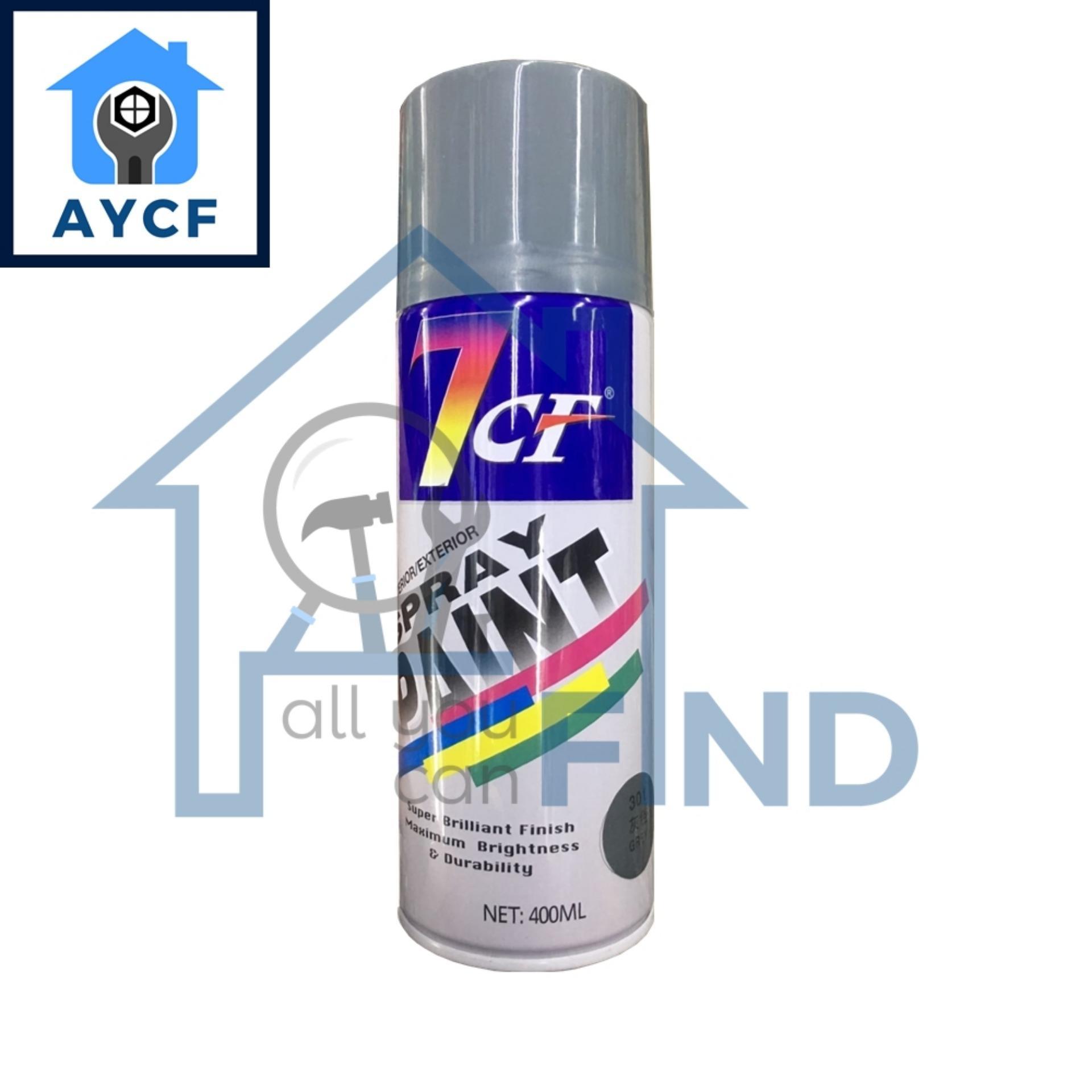 7CF Interior / Exterior Spray Paint 400ml - Grey