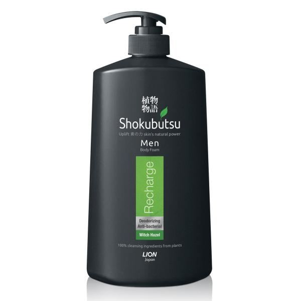 Buy Shokubutsu Men Body Foam (Recharge), 900ml Singapore