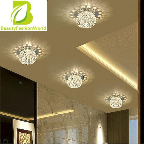 BeautyFashionWorld Crystal Pendant Lamp Exhibition Ceiling Chandelier Light