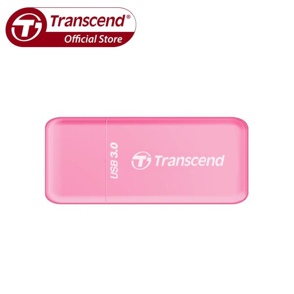 Transcend RDF5 USB 3.0 SD and MicroSD Card Reader (Pink)
