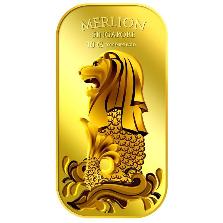 Price Comparisons Puregold Singapore 10G Merlion Sea Gold Bar 999 9