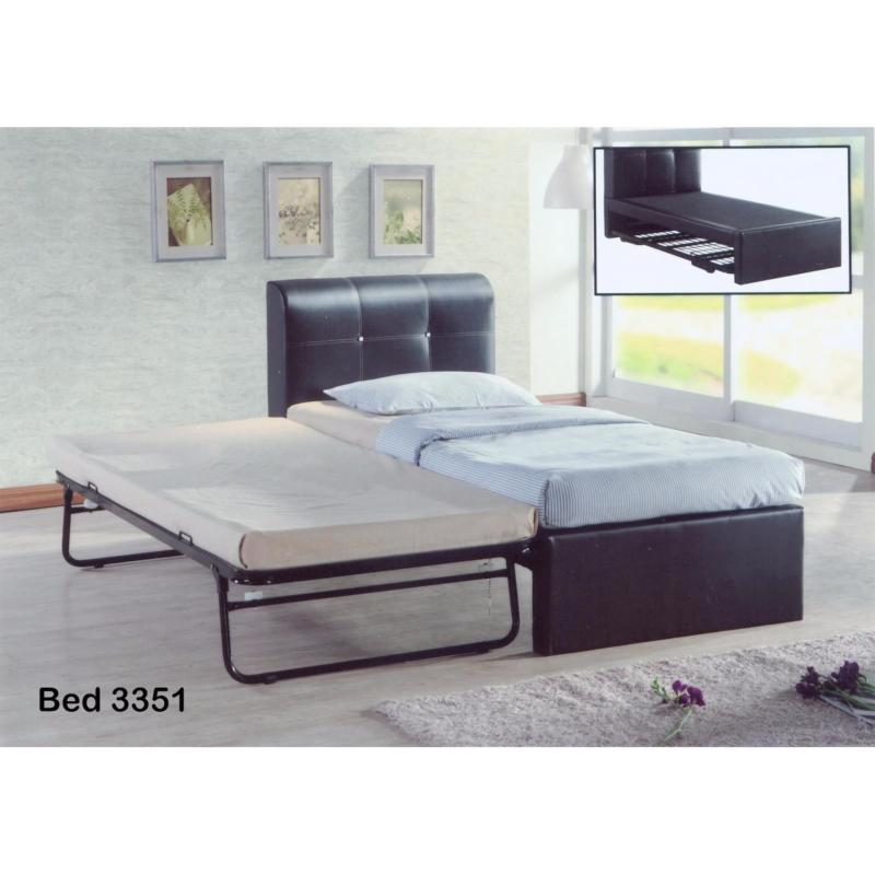 Space Saving 3 in 1 Single Bedframe + Lift Up Pull Out Bed  Add-on Mattress options  Free Delivery and Installation