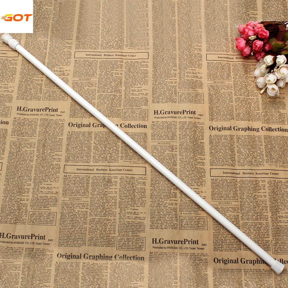 70-124cm Adjustable Extendable Extending Telescopic Pole Curtain Rod Window By Got It.