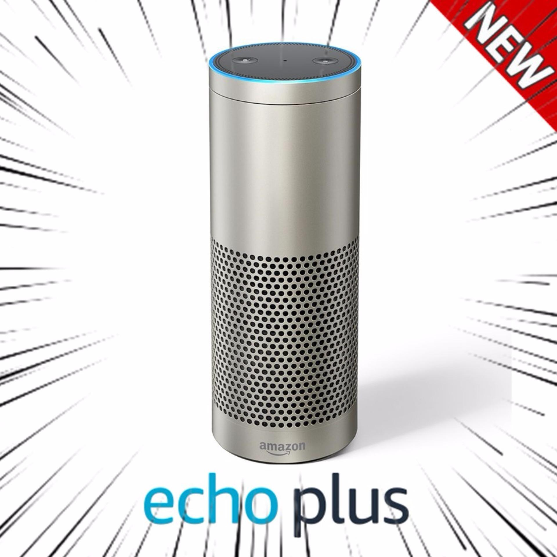 Who Sells The Cheapest Amazon Echo Plus With Built In Hub Silver Intl Online