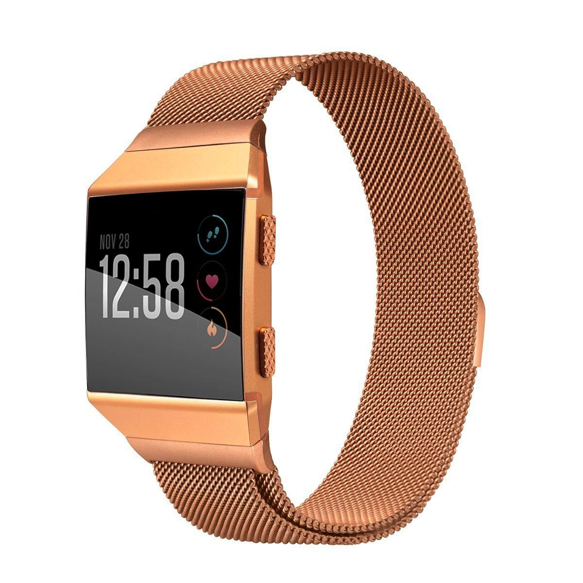 Price Comparisons For Haotop For Fitbit Ionic Bands Replacement Milanese Loop Stainless Steel Metal Bracelet Strap For Fitbit Ionic Smartwatch Small Large Size Intl
