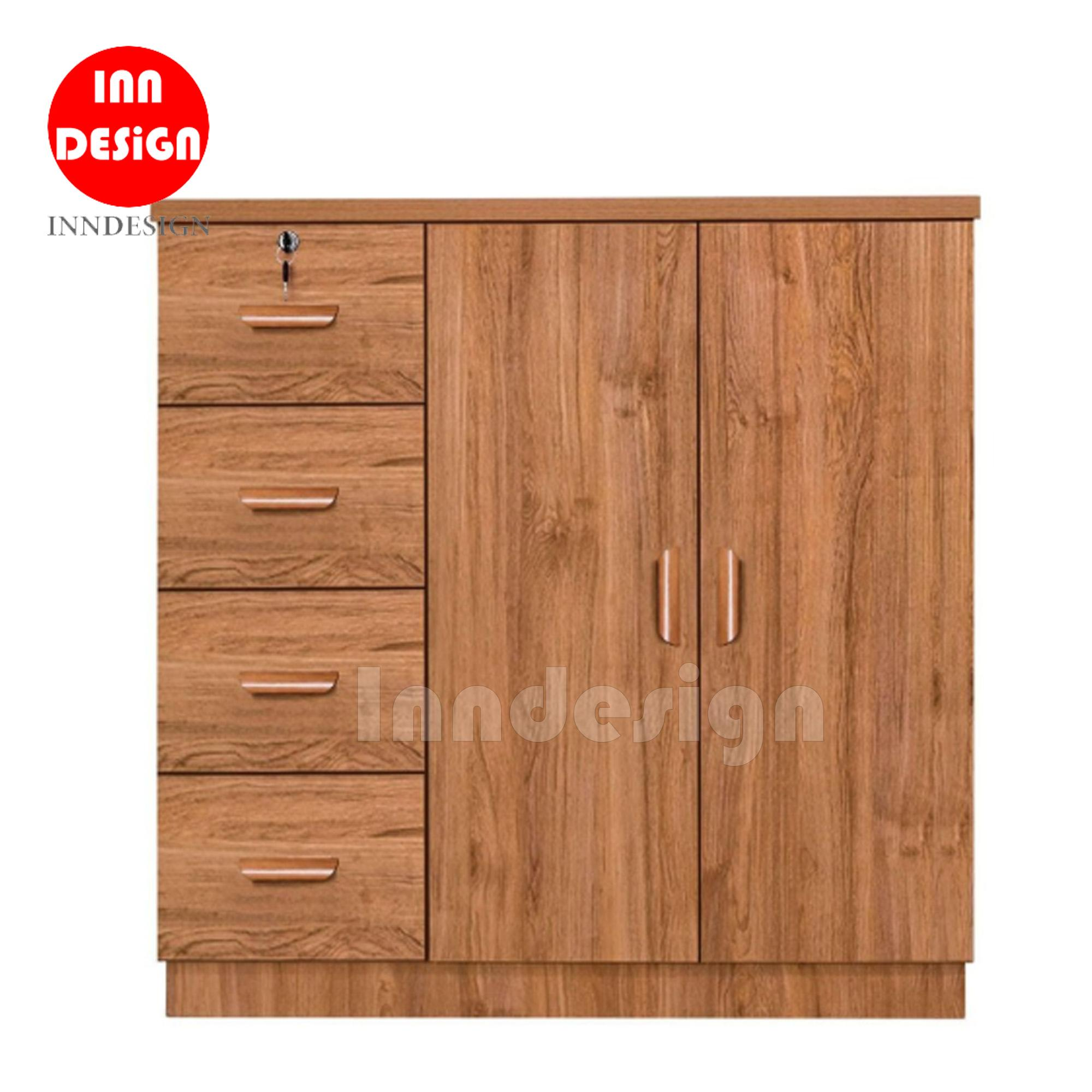 Spacer 4+2 Chest of Drawer (Fully MDF)