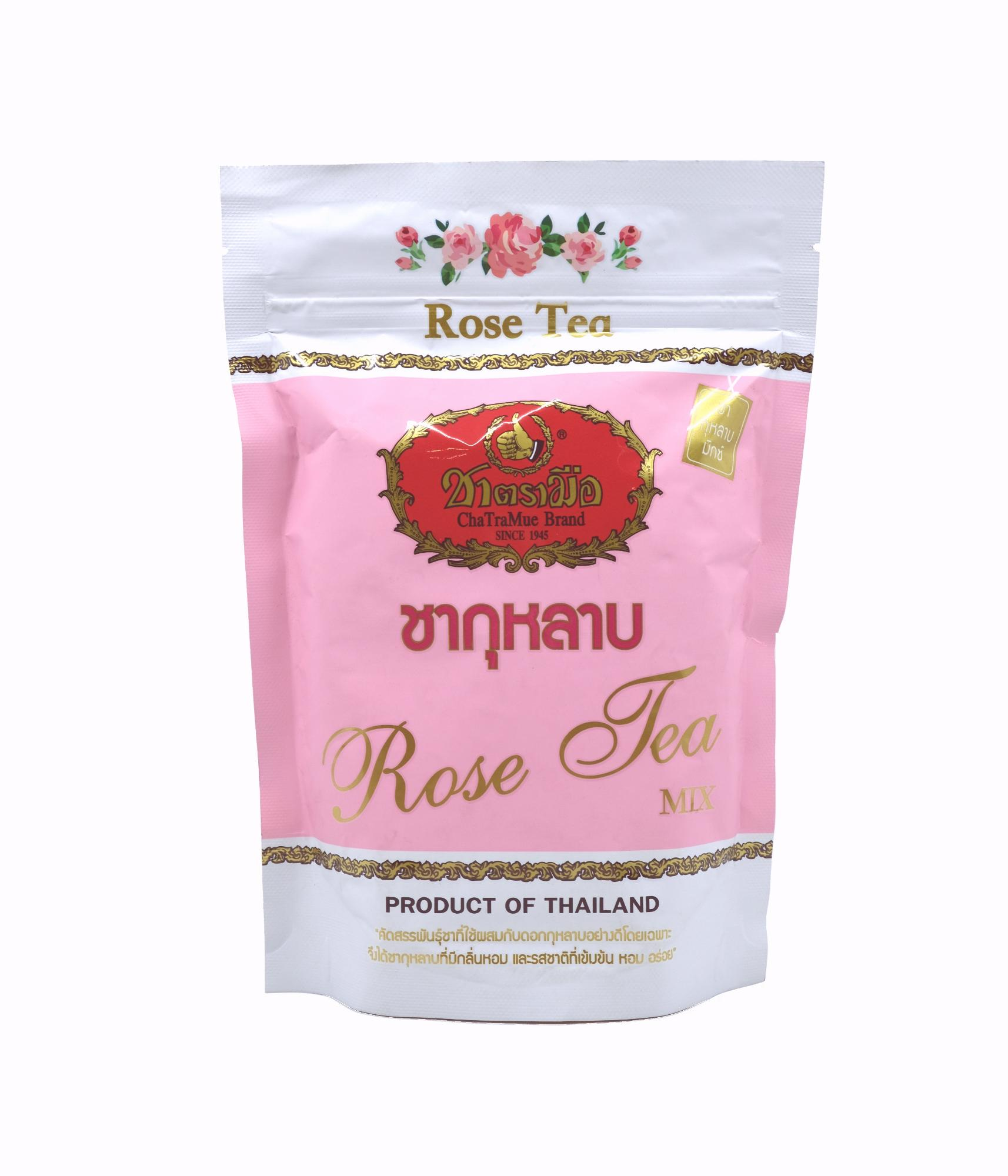 Thai Cha Tra Mue Rose Tea Mix – Loose Tea Mix By Ctfs Online.