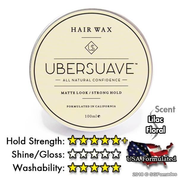 Buy Ubersuave 1.0 Hair Wax (Old Packaging)-SGPOMADES Singapore