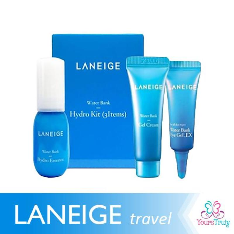 Buy Laneige Water Bank Hydro Kit Travel/Trial Size (3 items) Singapore