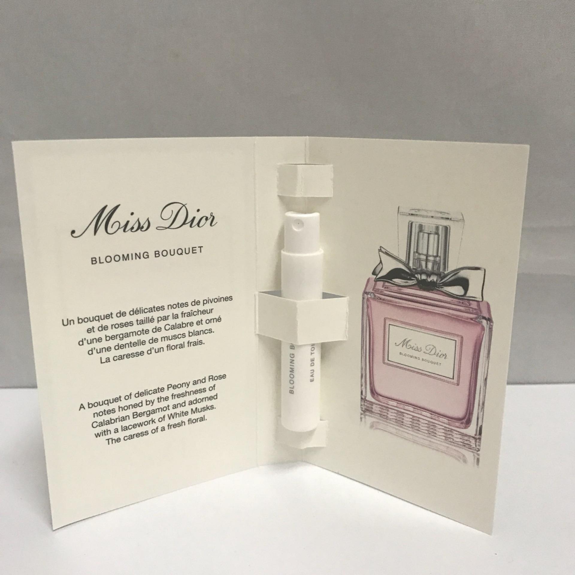 Latest dior fragrances products enjoy huge discounts lazada sg dior miss dior blooming bouquet edt vial 1ml x 2 izmirmasajfo