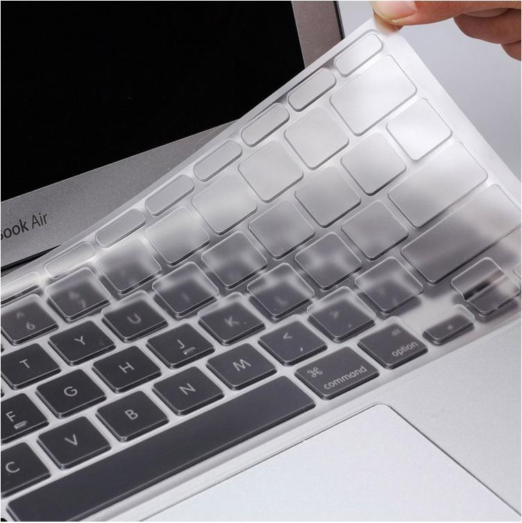 Ultra Thin Clear 0.1mm TPU Waterproof Clear Keyboard Cover Skin Protector for Apple MacBook New Pro 13 / 15 with touchbar (A1706/A1989) Laptops Accessories