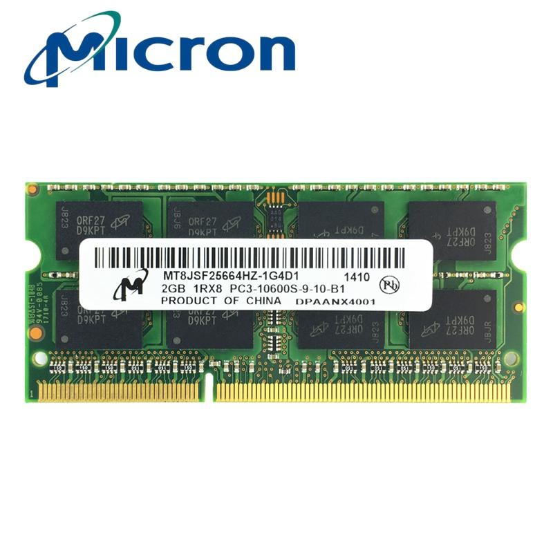 Sale Micron Ddr3 1333Mhz 2Gb 204 Pin Brand New Sealed Sodimm Memory Ram Memoria For Laptop Notebook Intl China