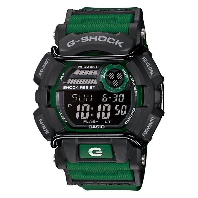 Sale Brand New Casio Gshock Military Green Strap With Bull Bars Digital Watch Gd400 3Dr Casio G Shock Cheap