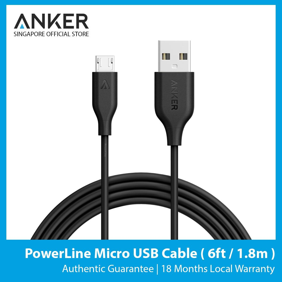 Buy Anker Powerline Micro Usb Cable 6Ft Anker Cheap