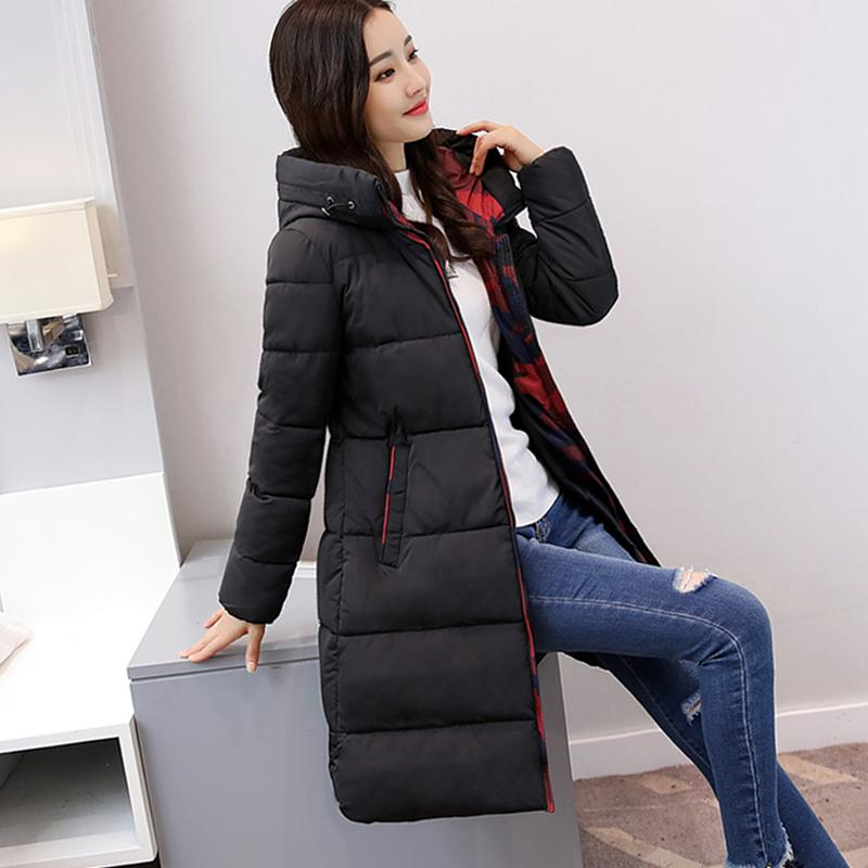 c21f931195c 2018 Thick Winter New Style Women's Coat Mid-length Cotton-padded Clothes down  Jacket