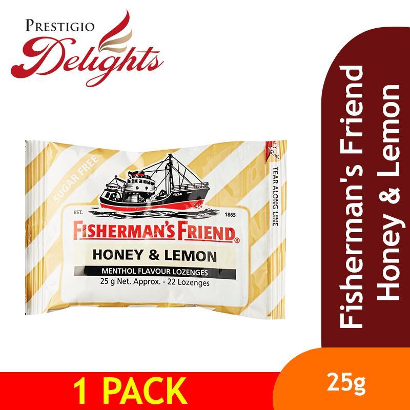 Fishermans Friend Honey & Lemon By Prestigio Delights.