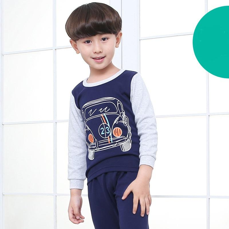 Big Kids Pyjamas /children Family Couple Pyjamas Set Up To Size 180cm Boys [pjo19] By Jolly Sg.