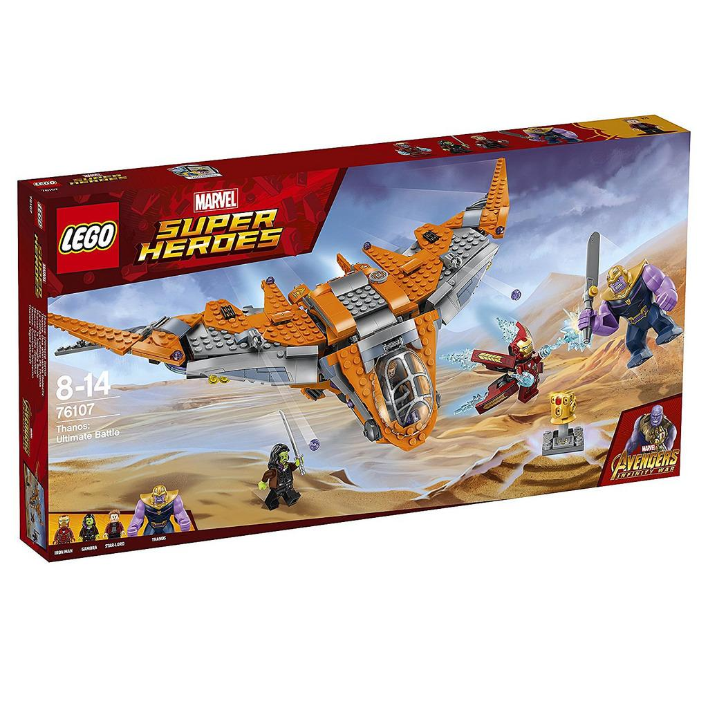 Coupon Lego 76107 Thanos Ultimate Battle