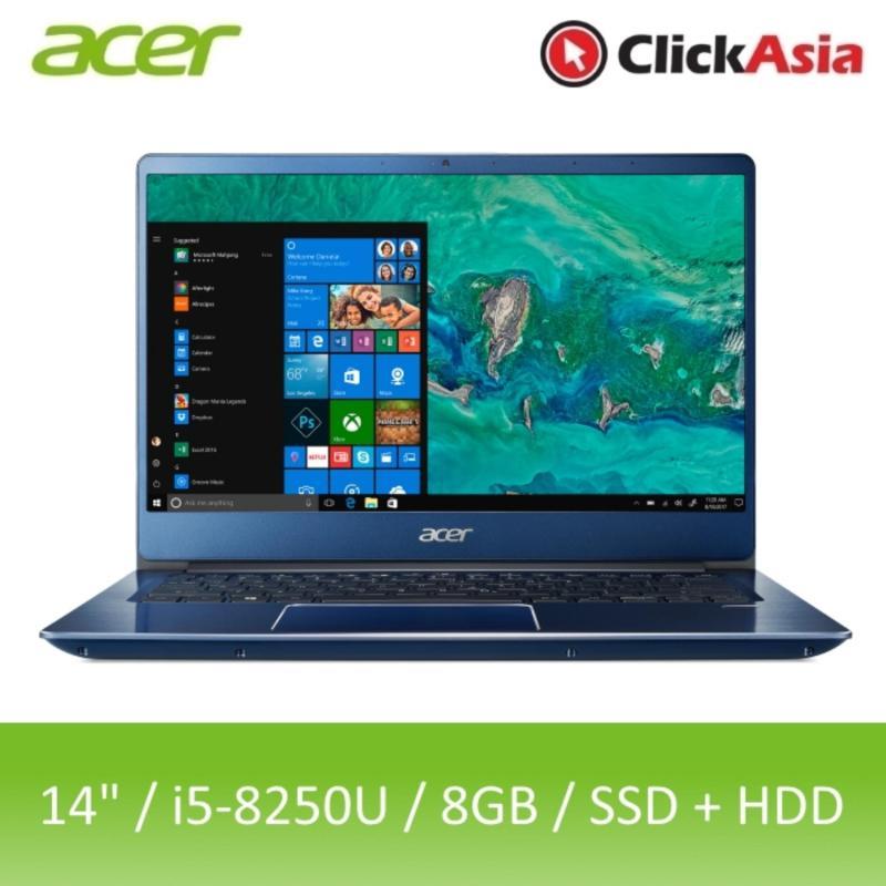 Acer Swift 3 (SF314-54G-5281) - 14 FHD/i5-8250U/2*4GB DDR4/128GB SSD+1TB HDD/Nvidia MX150/W10 (Blue)