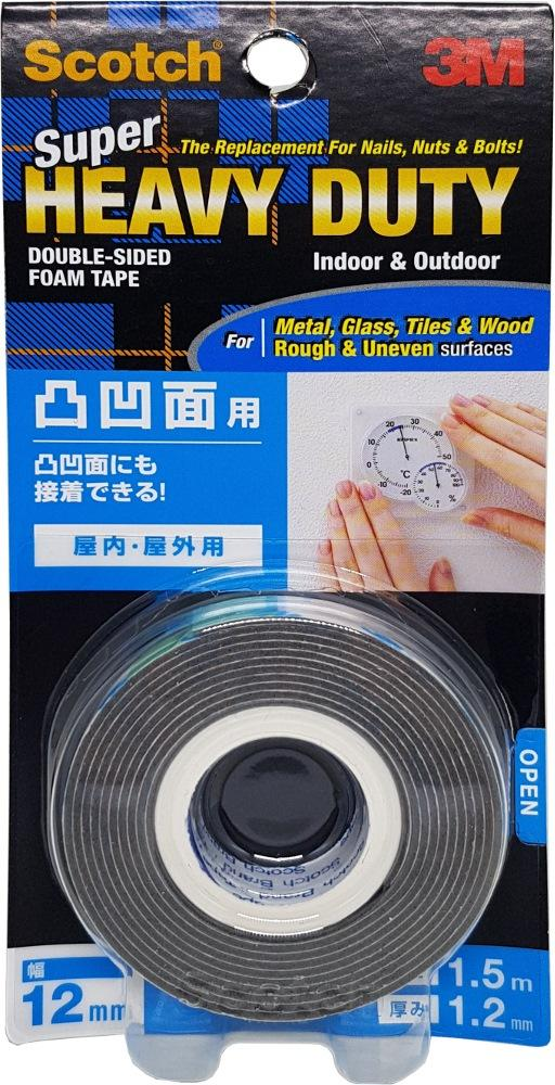 3m Scotch Double Sided Tape 12mmx1.5m (rough/uneven)kh12 By 3m Official Store.