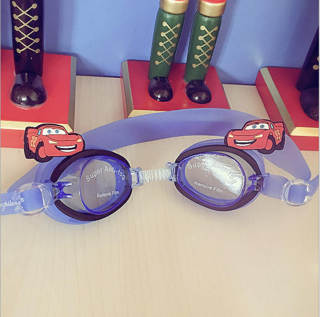 Cute Disney Cartoon Kids Prescription Sports Glasses Swim Goggles Swim Glasses By Mycozyshop.