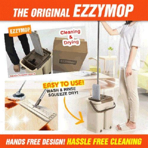 Sale The Original Ezzy Mop Magic Cleaning Mop Microfiber Easy Mop Wonder Cleaning Mop Ezzymop Oem Branded