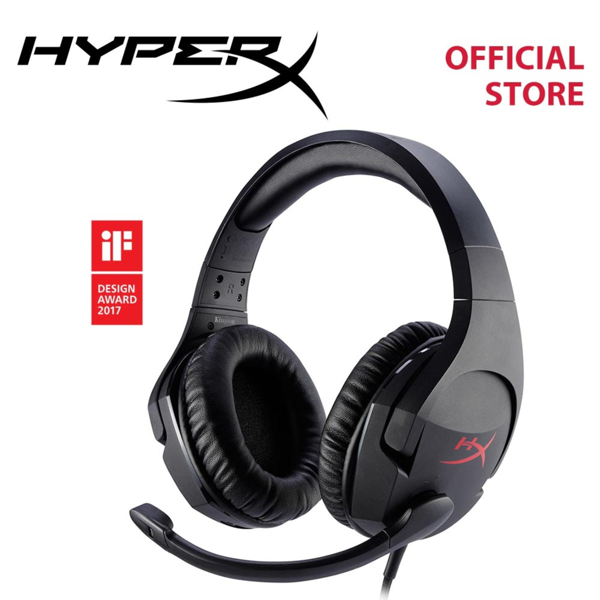 HyperX Cloud Stinger Gaming Headset (Black) - For PC and Consoles