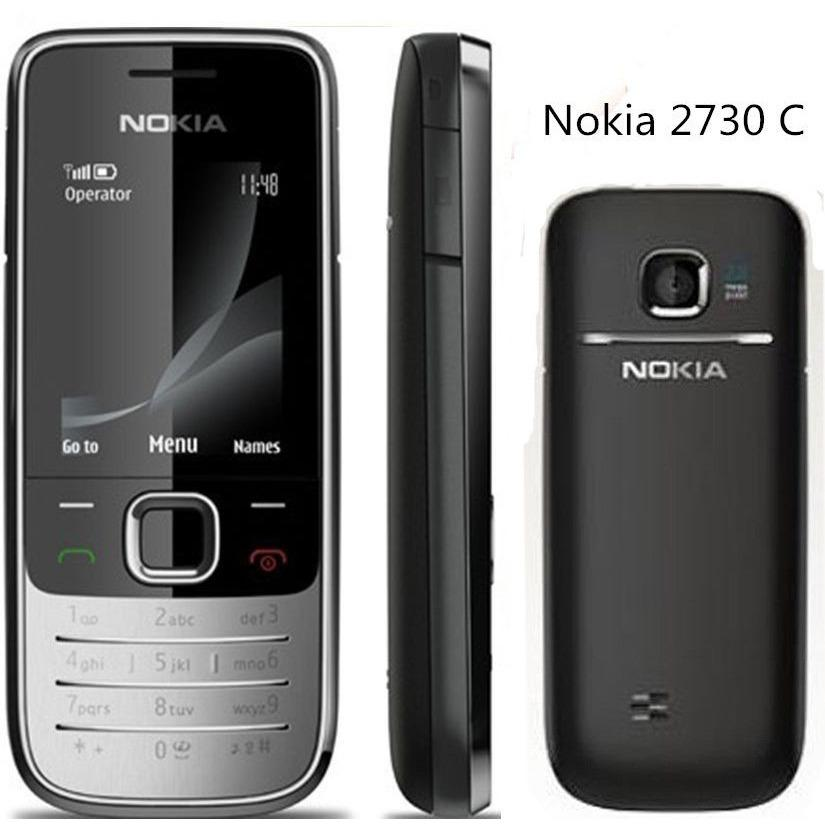 2730 Original Phone Nokia Cheap Phones Unlocked GSM WCDMA With Russian Keyboard Free Shipping
