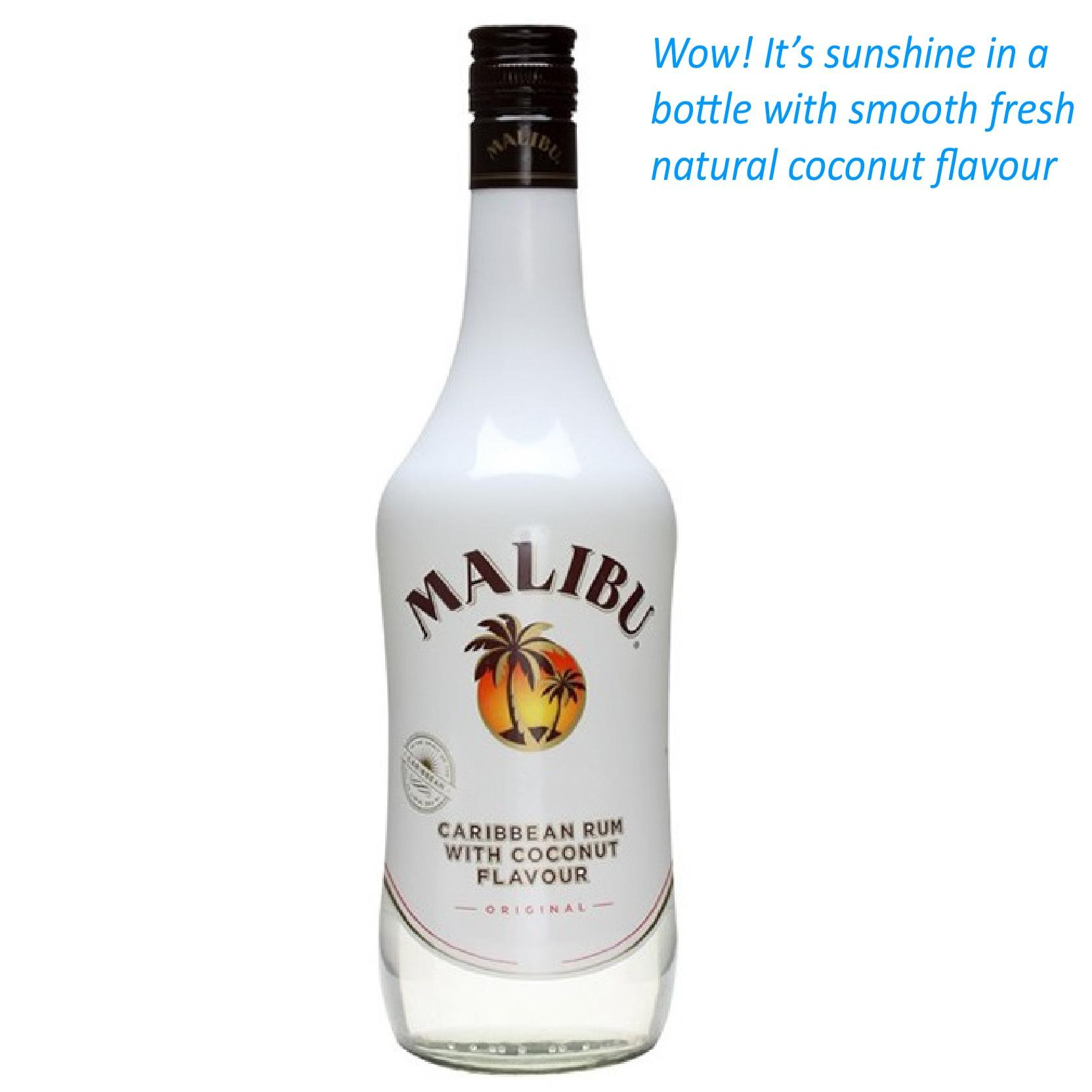 Compare Malibu Caribbean Rum With Coconut 70Cl Latest Stock
