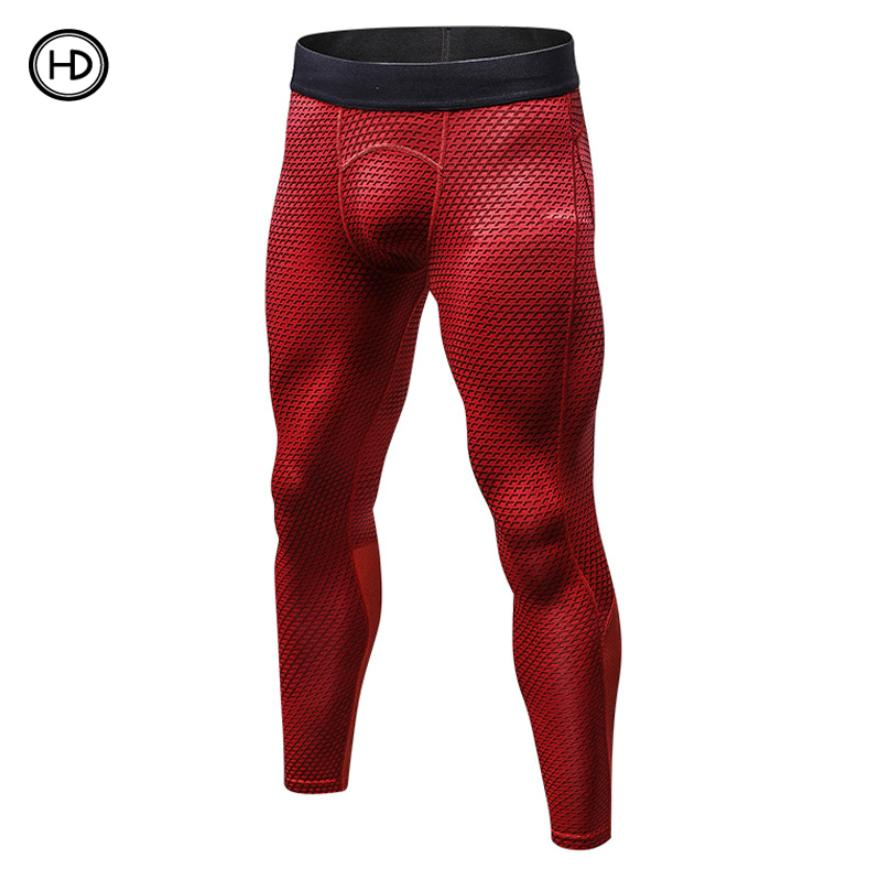 20f55a6202f15 HEDA sports PRO pants, quick-dry stretch, tight trousers, men's 3D printing
