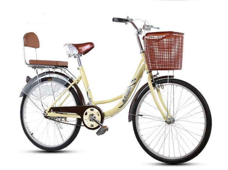 Jiji 24 Inch Traditional Bicycle (free Installation) / Casual Bicycle / Leisure Bicycle / Weekend Bicycle / Bicycle Basket / Standard Bicycle / 6 Month Warranty (sg) By Jiji Sports