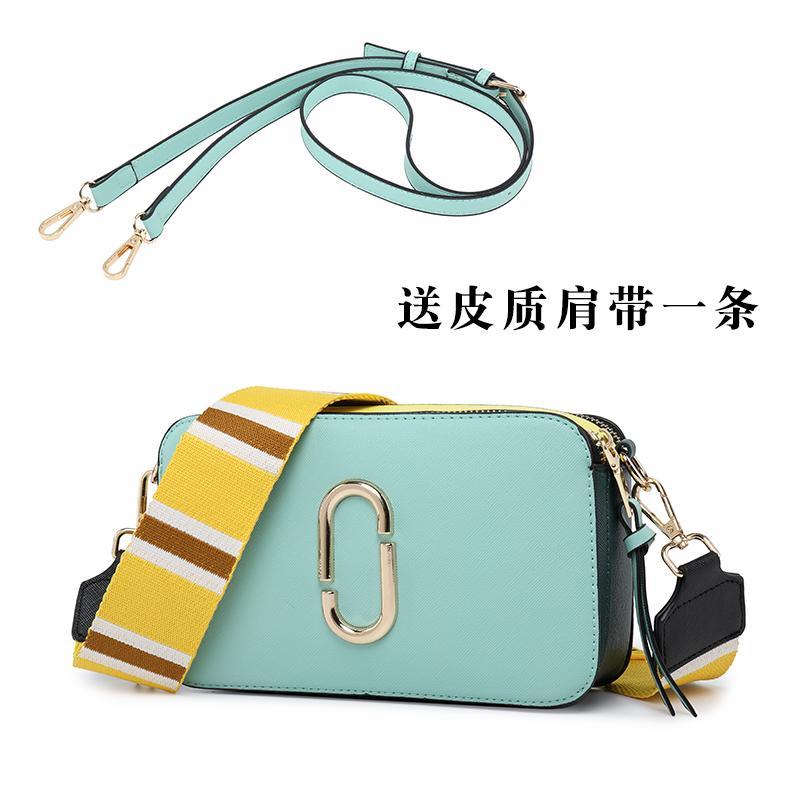 496b8e27bc01 Small Bag Female 2019 New Style New Arrival Broadband Bags Versatile  Shoulder Square Sling Bag Fashion Contrast Color Single-shoulder Bag for  Women
