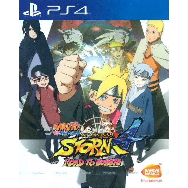Ps4 Naruto Shippuden Ultimate Ninja Storm 4 Road To Boruto As R3 Plas 07095 Sale