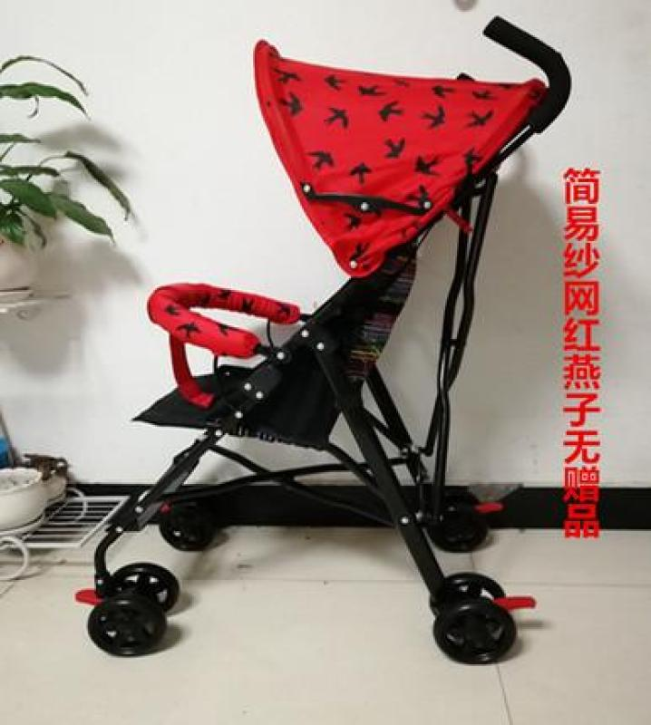 RC-Baby&kids Portable Simple Lightweight Pram Foldable Pushchair Infant Baby Travel Stroller Singapore