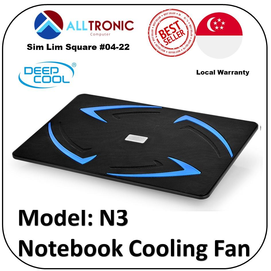 Deepcool Notebook Cooler Fan N3 18CM Fan Slim Design