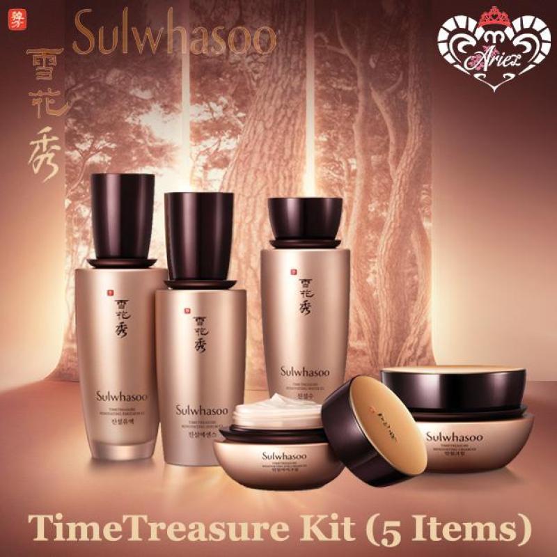 Buy *Ariez* Sulwhasoo TimeTreasure Kit (5 Items) (Korea Skincare Premium Sample) Singapore