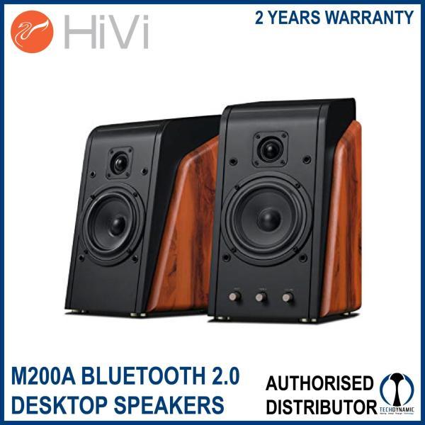 HiVi Swanspeakers M200A Bluetooth 2.0 Active Desktop Speakers