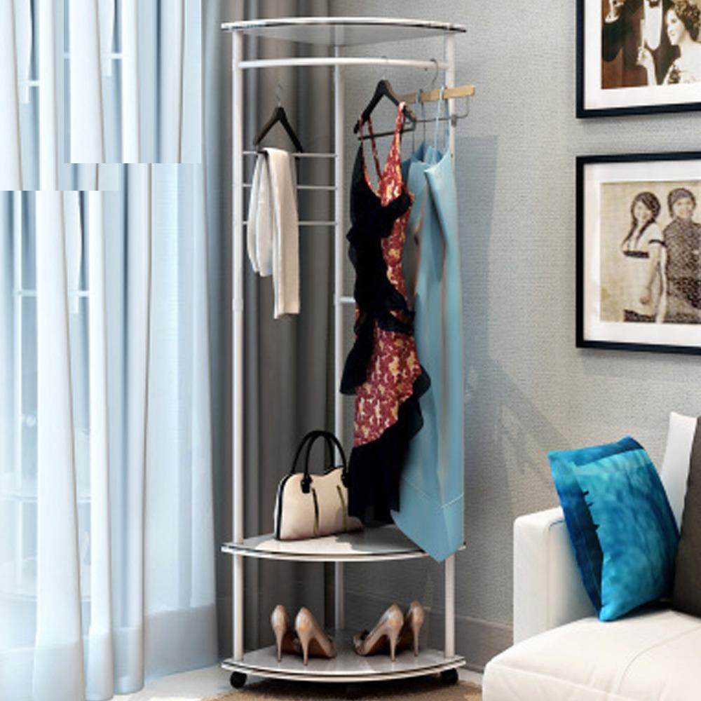 Premiere Home Dual Layer Clothes Rack ( 08B ) (Closet Organiser)