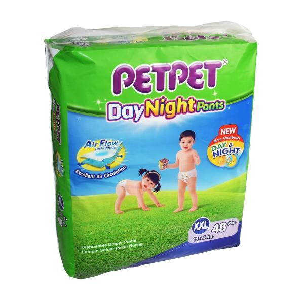 Petpet DayNight Pants Mega Pack XXL48 x 3 Packs