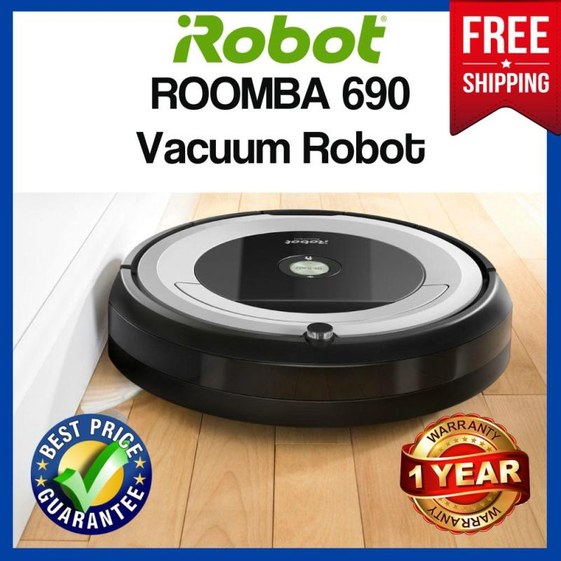 Irobot Roomba 690 Robotic Vacuum Wifi Connected Cleaning Expert Singapore