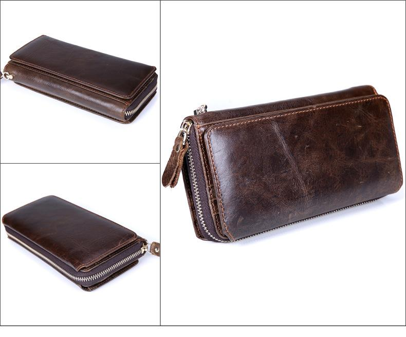 Quality Leather Long Wallet For Men - New Fashion - New Style - Classic and Modern
