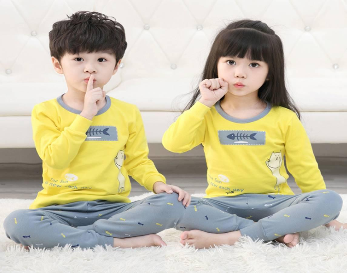 Big Kids Pyjamas /children Family Couple Pyjamas Set Up To Size 180cm Boys [pjo01] By Jolly Sg.