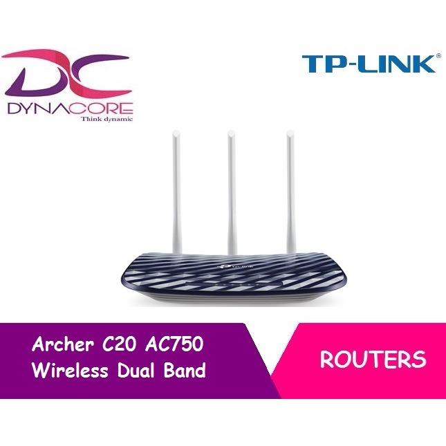 Tp Link Archer C20 Ac750 Wireless Dual Band Router Sale